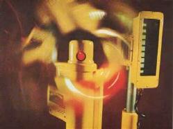 Een van de eerste laser zenders en ontvangers   uit ongeveer 1975